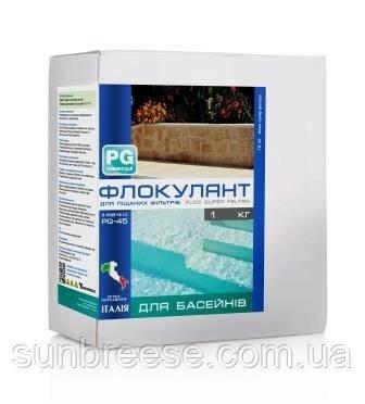 PG-44 Флокулянт для песочных фильтров (табл.) 800г