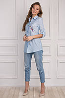 Оригинальная молодежная блуза на лето для девушек