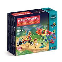 Магнитный конструктор Поход в горы, 32 элемента, серия Фантазер, Magformers