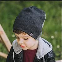 Шапка демисезонная на мальчика от Дембо