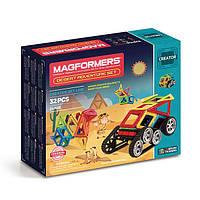 Магнитный конструктор Поход через пустыню, 32 элемента, серия Фантазер, Magformers