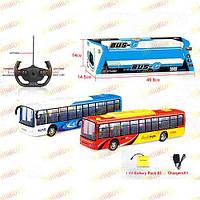 Автобус на радиоуправлении .666-695A. Аккумулятор, пульт, 37 см.