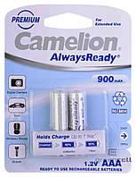 Аккумулятор Camelion AlwaysReady R03 900 mAh Ni-MH