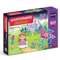 Магнитный конструктор Прекрасная принцесса, 56  элементов, серия Для девочек, Magformers