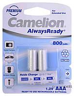 Аккумулятор Camelion AlwaysReady R03 800 mAh Ni-MH