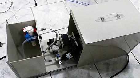 Набор для системы туманообразования на 15 форсунок. С насосом 10 атм, фильтром и самонаполняющимся баком., фото 2