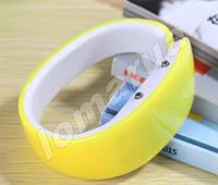 Женские часы браслет Yellow LED