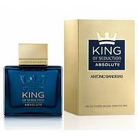 Antonio Banderas King of Seduction Absolute Туалетная вода 100 ml. ( для мужчин )  (РЕПЛИКА)