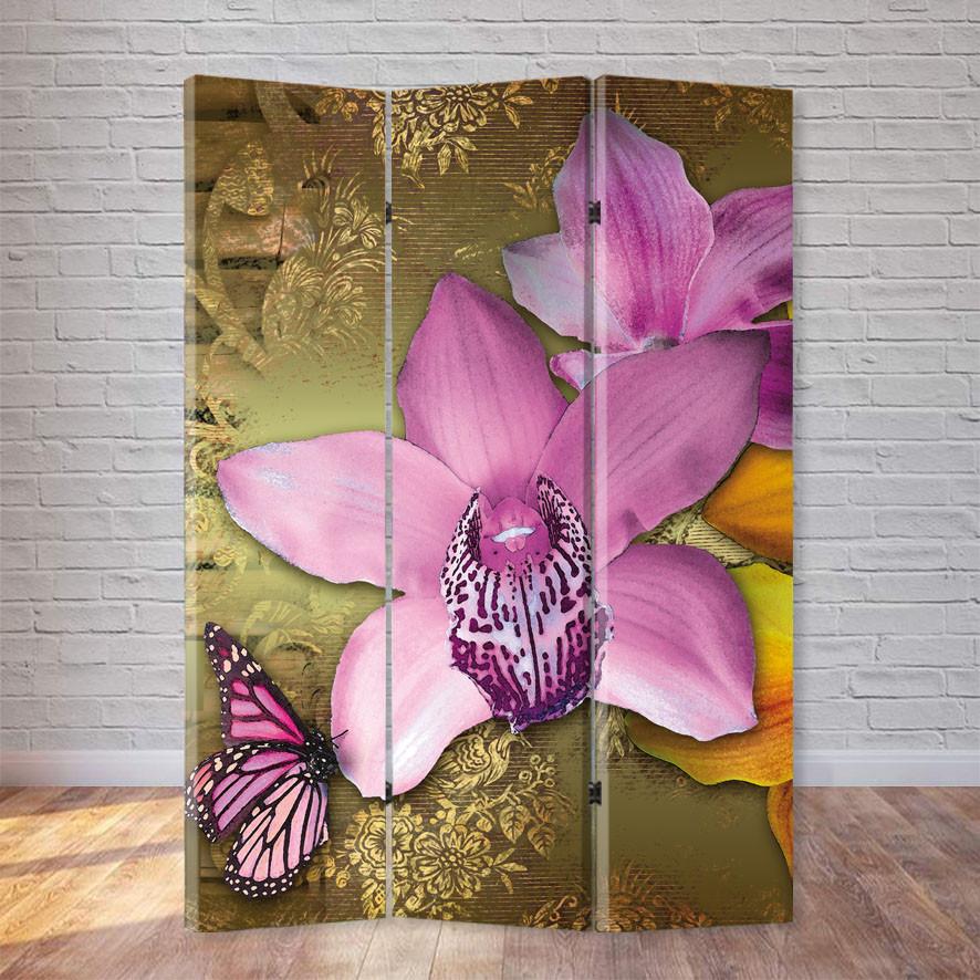 """Ширма """"Орхидеи"""""""