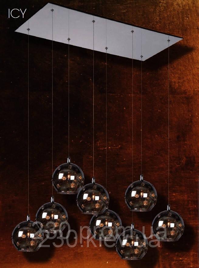 Люстра Lucide ICY 8 шаров