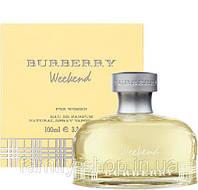 Парфюмированная вода Burberry Weekend 100 ml. Женские Tester