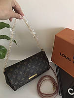 Мини сумочка LOUIS VUITTON Monogram Canvas натуральная кожа