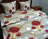Постельное белье, БЯЗЬ оптом и в розницу, С Красными розами 0552