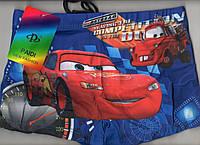 Плавки шорты купальные детские на мальчика PAIDI new fashion - тачки, 36-42 размер, синие, 7978