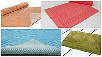 Полотенце отельное прорезиненное для ног Lotus 50*70 разные цвета