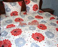 Комплект постельного БЯЗЬ оптом и в розницу, цветы 0436