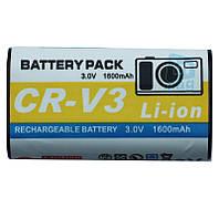 Аккумулятор для фотоаппарата Casio CR-V3, 1600 mAh.