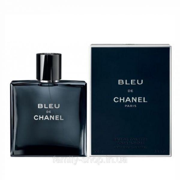 Туалетная вода Chanel Bleu De Chanel 100 ml. -  интернет-магазин «F-S» в Днепре