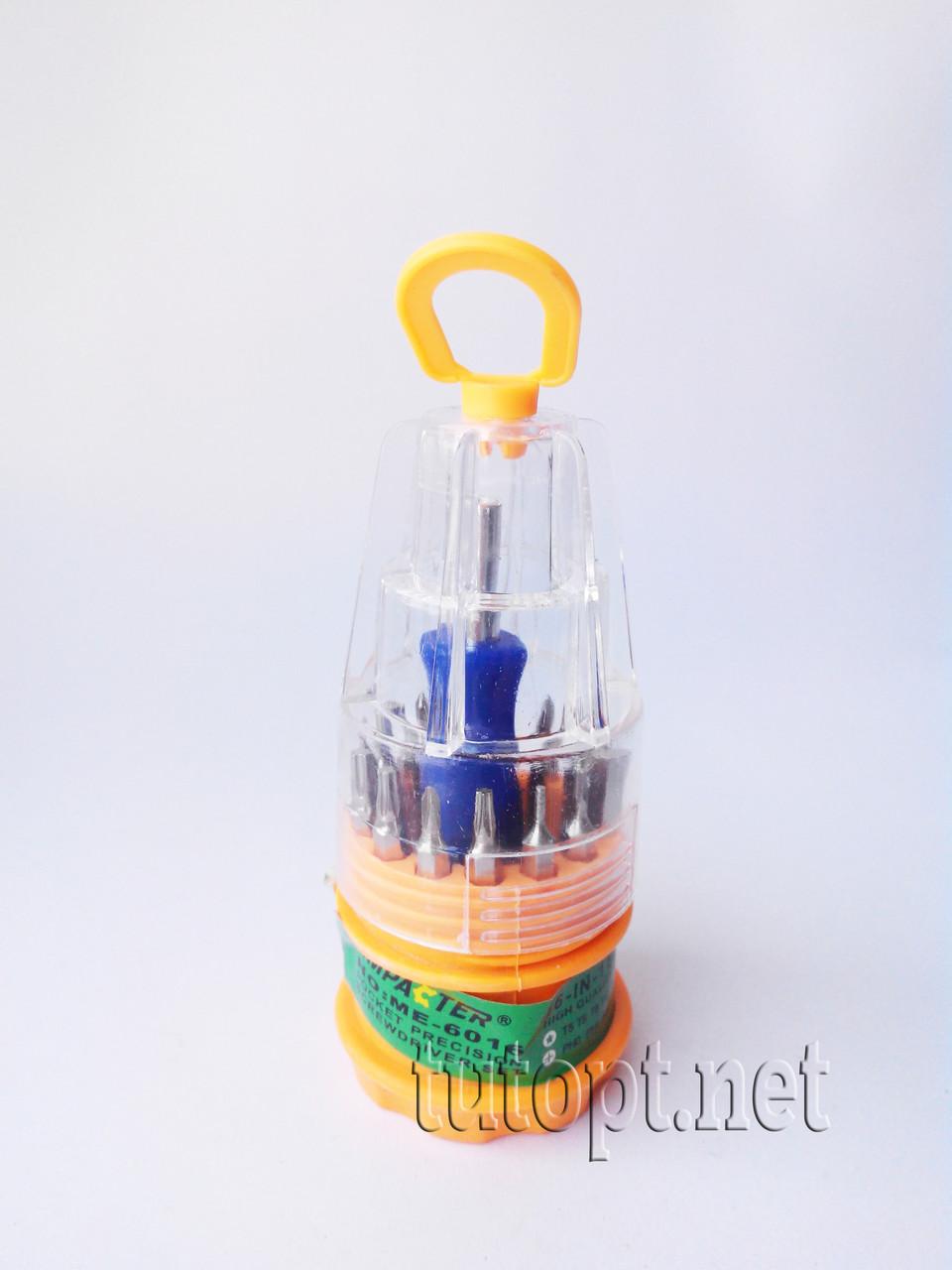 """Набор отверток """"Impacter"""" 6016, маленькая, набор в виде стаканчика с 16 насадками."""