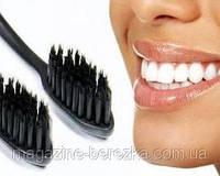 Бамбуковая зубная щетка NANO black // ЧЕРНЫЕ // NANO black
