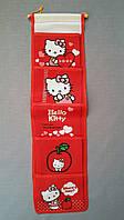 Органайзер для мелочей, Hello Kitty, 5 секций