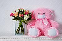 Плюшевый мишка Бойд 70см / 42см розовый