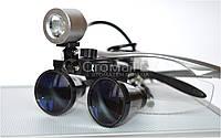 Бинокуляры B1 (3.5х-R) silver + LED