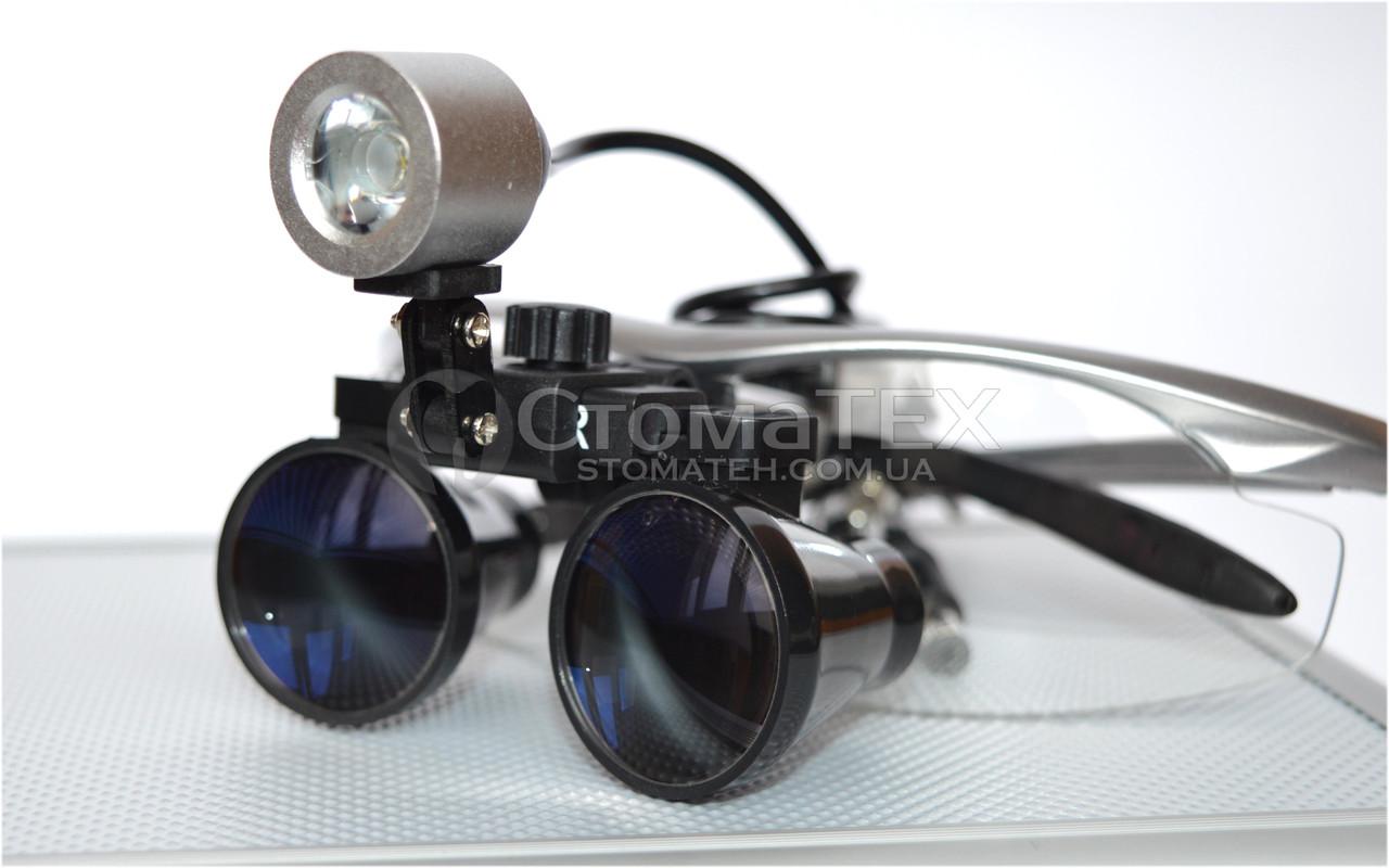 Бинокуляры B1 (3.5х-420) silver + LED NaviStom