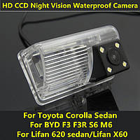 Камера заднего вида Toyota Corolla Sedan BYD F3 F3R S6 M6 Lifan 620 sedan Lifan X60, фото 1