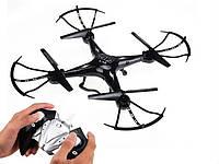 Квадрокоптер дрон cреднего размера  с камерой Wi-Fi и дополнительным аккум. в подарок (запчасти в наличии)