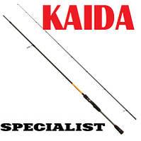 Спиннинг карбоновый KAIDA SPECIALIST 2.4м 5-28г