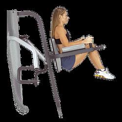 Тренажер брусья-подъем ног Body-Solid GKR9 для дома и спортзала