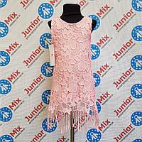 Платье гипюровое на девочку  DEVA