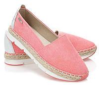 Женские балетки красивые, розового цвета размеры 37,40