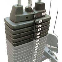 Дополнительный вес на стек Body Solid SP10 для дома и спортзала с доставкой, Киев