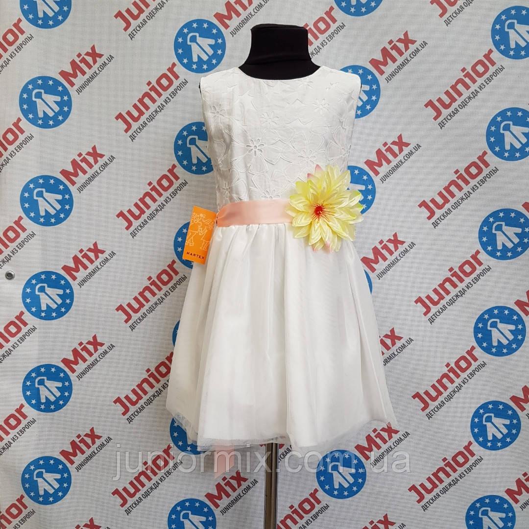 Нарядное платье на девочку MARTEX