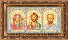 """Триптих """"Молитва про благополуччя в дорозі"""" ЧІ-А3-15 Атлас"""