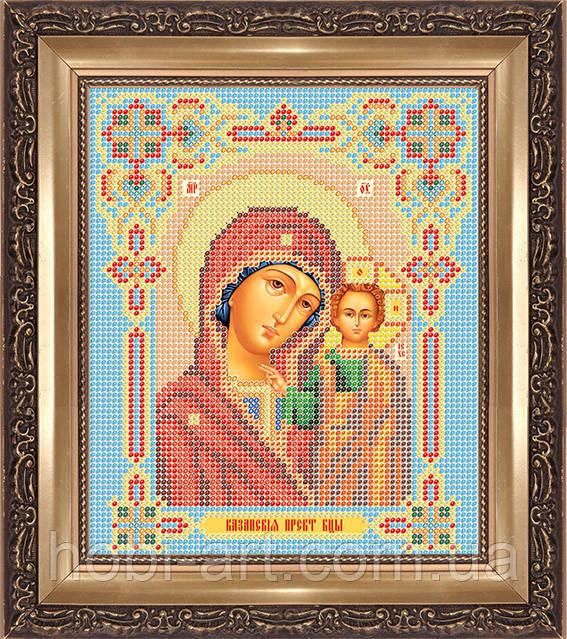 Казанская икона Божией Матери, триптих ПІ-А4-58 Атлас