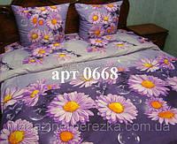 Комплект постельного РАНФОРС, рисунок 3Д, 100% хлопок, полуторный 0668