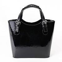 Женская сумка М115-лак/27 black