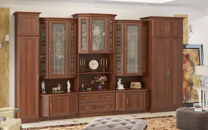 стенка в гостиную барон производитель мебель сервис цена 10 774