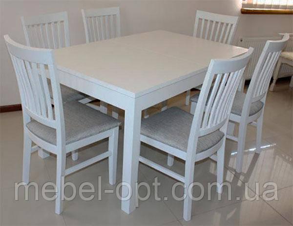 Деревянный прямоугольный раскладной стол Явир-5