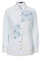 Рубашка  хб с кружевом, фото 1