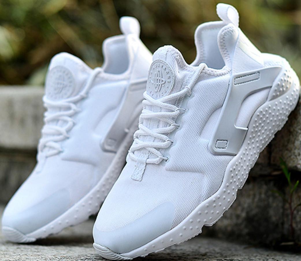 Кроссовки женские Nike Huarache Ultra All White - ТЕХНОЛЮКС в Запорожье 8672ad58735