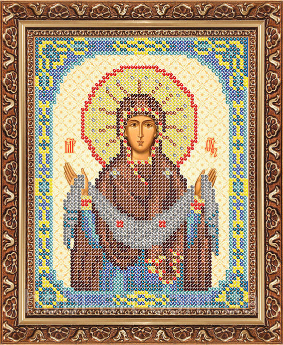 Образ пр. Богородицы Покровы ЧІ-А5-125 Атлас