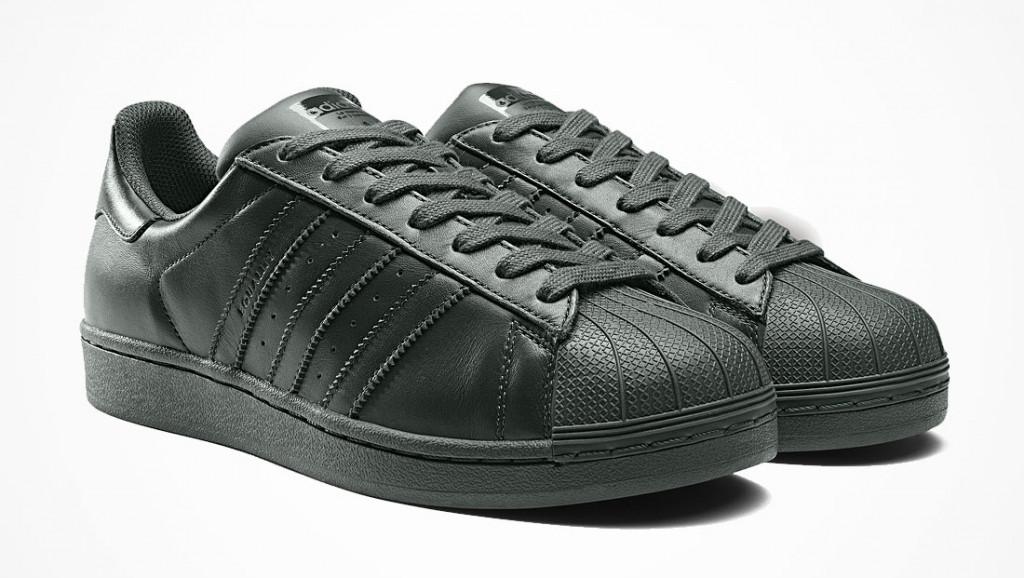 Кроссовки мужские в стиле Adidas Superstar Black