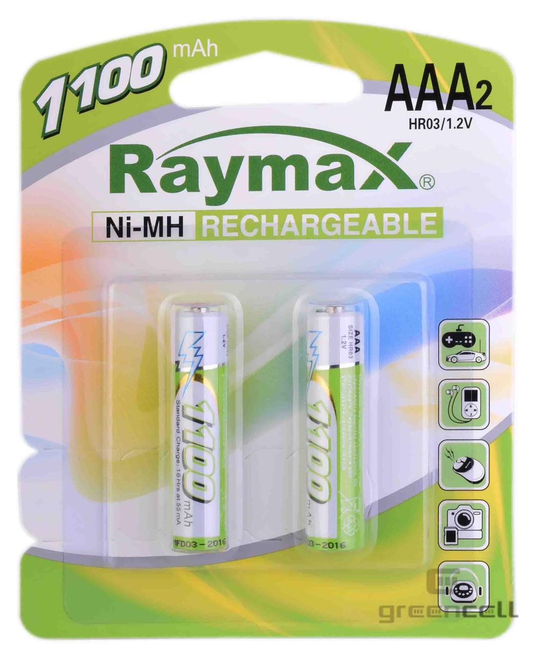 Аккумулятор Raymax R03 1100 mAh Ni-MH