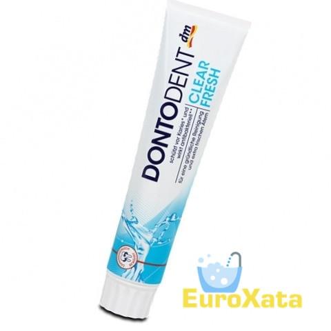 Зубная паста Dontodent Clear Fresh (125 мл) Германия