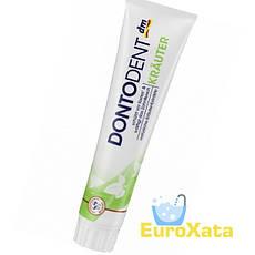 Зубная паста DM Dontodent Krauter