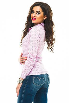Рубашка 240 розовая, фото 2